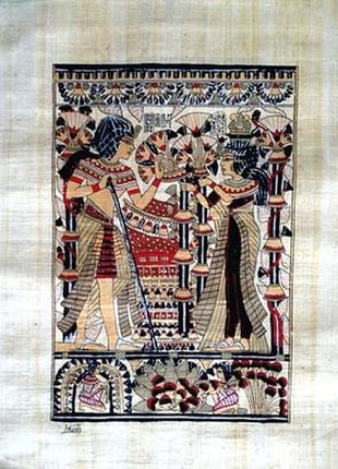 Картины на папирусе