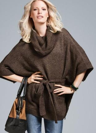 Пончо свитер пуловер накидка