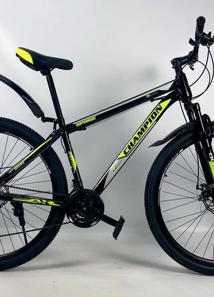 Горный велосипед 2021 Crossbike Shark 29 Рама 19