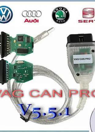 Vag CAN Pro 5.5.1 BUS+UDS+k-line ATMEGA162 (Русский) OBD