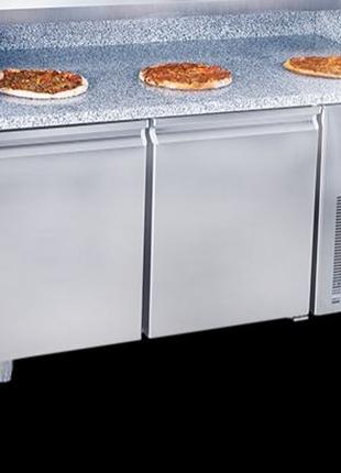 Холодильний стіл для піци Frenox PZT 155. Піца стіл. Холодильник.