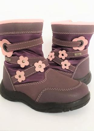 Фирменные ботинки тм plato 24 размер
