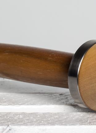 Гантели разборные с деревянными вставками