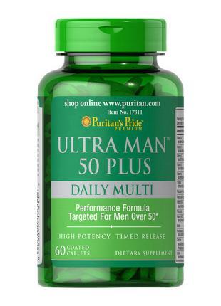 Витамины для мужчин старше 50 лет Puritan's Pride Ultra Man 50...