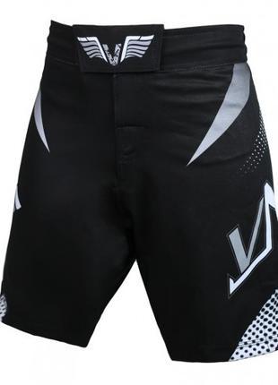 Шорты для мужчин для единоборств VNK Scath Black XL черный