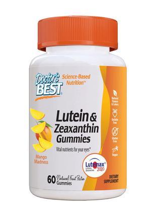 Лютеина и Зеаксантин Doctor's BEST Lutein & Zeaxanthin Gummies...