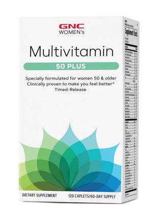 Витамины для женщин старше 50 лет GNC Women's Multivitamin 50 ...