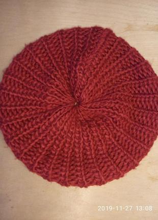 Берет женский подрасковый шапка