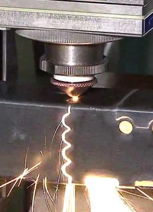 ЧПУ гибка и лазерная ЧПУ резка чёрного и цветного металла листа,