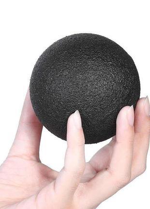 Массажный мячик EPP 10 см черный