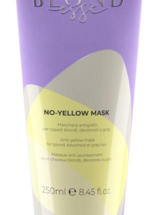 Маска для волос Inebrya Blondesse No-Yellow для осветленных ил...