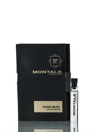 Montale Roses Musk vial spray