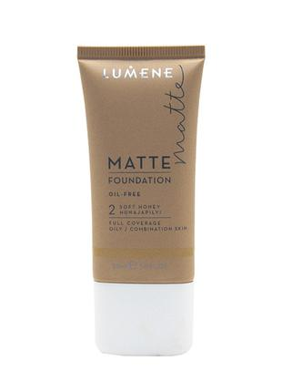 Lumene Matt Control Oil-Free Foundation Тон.основа Матирующая 2