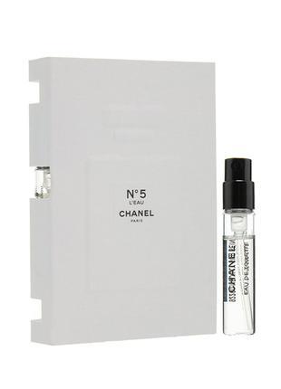Chanel №5 L'Eau - vial spray