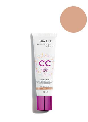 Lumene Nordic Chic CC Color Correcting Cream SPF20 Тональный к...