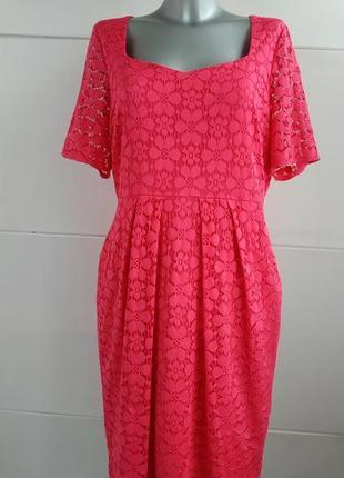 Нарядное платье marks & spencer с утяжкой