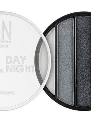 Тени для век LN Professional All Day All Night Eyeshadows №02