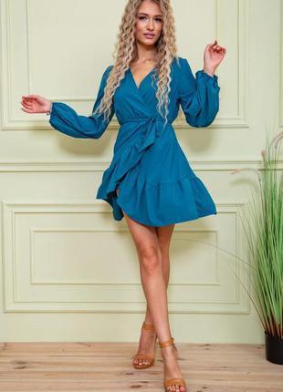 Платье женское 131r8159 цвет изумрудный
