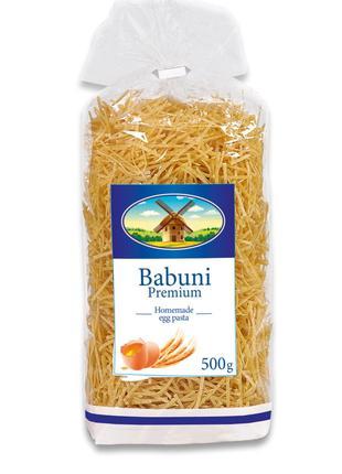 Лапша 2 Babuni Premium 500 г, яичные