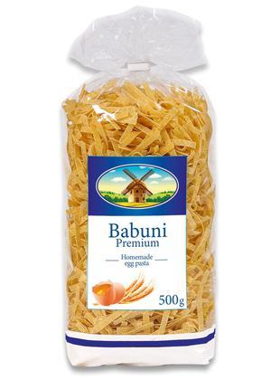 Лапша 5 Babuni Premium 500 г, яичные