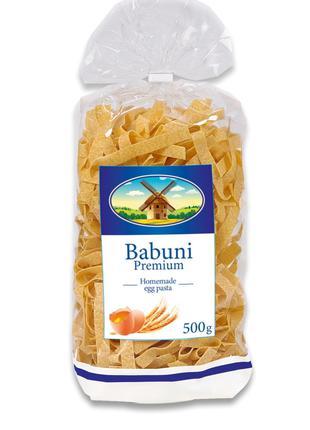 Лапша 10 Babuni Premium 500 г, яичные