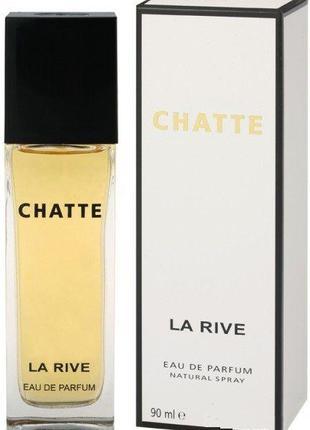 Парфюмированная вода для женщин La Rive CHATTE 90мл