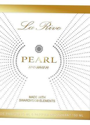 Набор женский La Rive Swarovski Pearl парфюмированная вода 75 ...