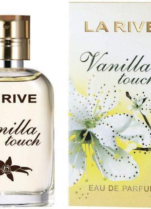 Парфюмированная вода для женщин La Rive VANILLA TOUCH 30мл