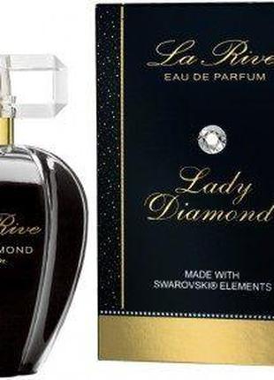 Парфюмированная вода для женщин La Rive LADY DIAMOND SWAROV 75мл