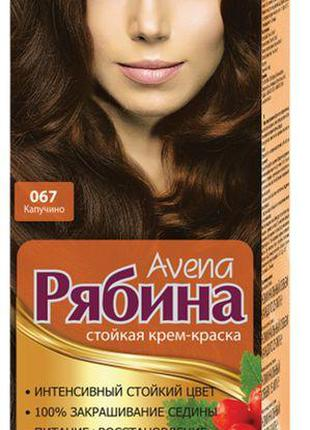 Краска для волос Рябина 067 Капучино Avena