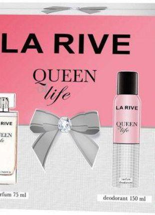 Набор парфюмированный для женщин La Rive Queen of Life