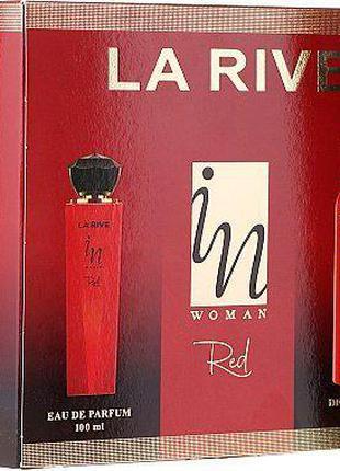 Набор парфюмированный для женщин La Rive In Woman Red