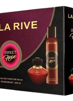 Набор парфюмированный для женщин La Rive Sweet Hope