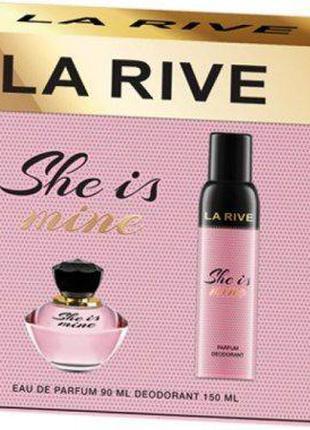 Набор парфюмированный для женщин La Rive She Is Mine
