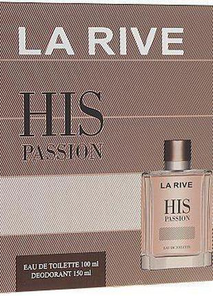 Набор парфюмированный для мужчин La Rive His Passion
