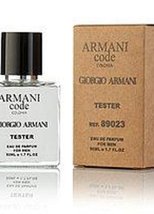 Мужская Туалетная вода Giorgioo Armanii Code Colonia 50 ML TESTER