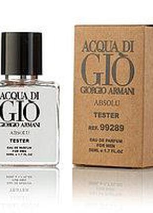 Мужская Туалетная вода Giorgioo Armanii Acqua Di Gio Absolu 50...