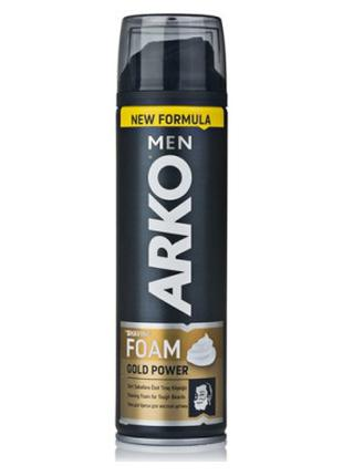 Пена для бритья ARKO MEN Gold Power 200 мл