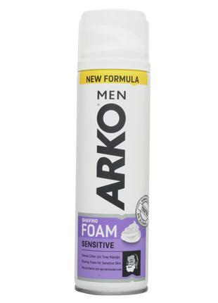 Пена для бритья ARKO MEN Sensitive 200 мл