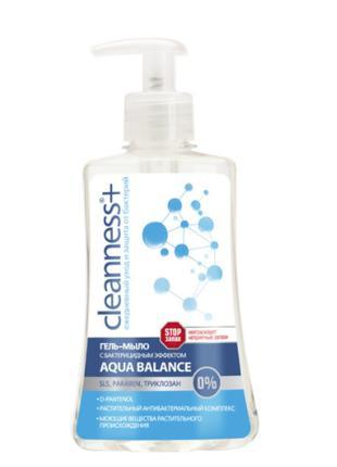 "Гель-мыло ""Алоэ"" Velta Cosmetic Cleanness+ Aqua Balance 310г"