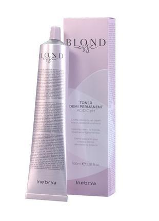 Тонирующая краска для волос Inebrya DT07 Золотисто-медный 100 мл