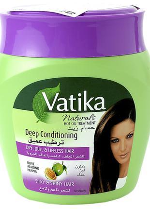 Маска для волос Dabur Vatika Глубокое кондиционирования 500г