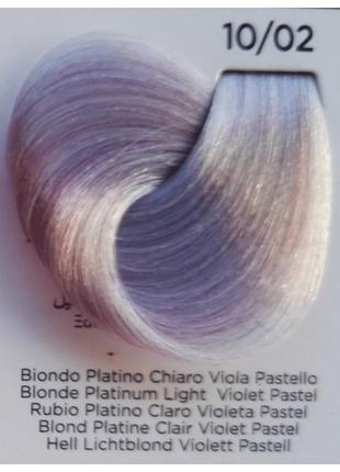 10/2 платиновый блонд жемчужный Inebrya Bionic Color безаммиач...