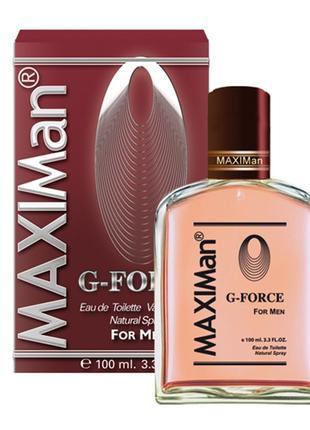 Мужская туалетная вода Aroma Perfume MaxiMan G-Force 100 мл