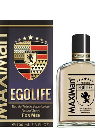 Мужская туалетная вода Aroma Perfume MaxiMan Egolife 100 мл