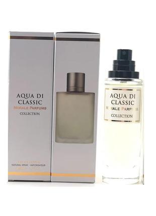 Парфюмированная вода для мужчин Morale Aqua Di Classic 30 мл