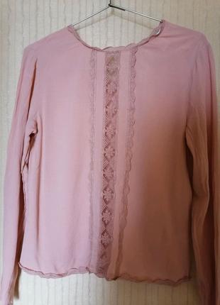 Блуза коралловая h&m