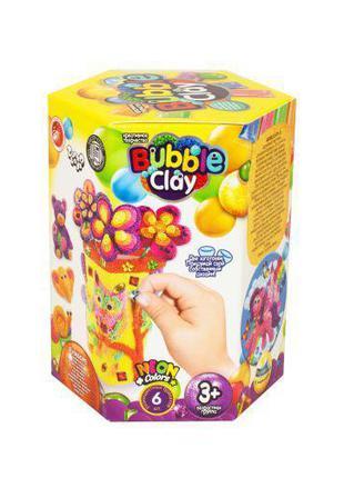 "Набор креативного творчества ""BUBBLE CLAY: шариковый пластилин..."