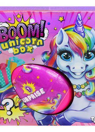 "Игрушка-сюрприз ""Boom! Unicorn Box"", укр BUB-01-01U"