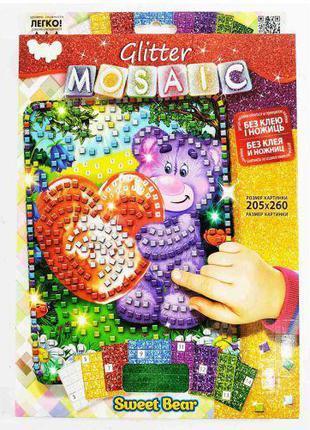 "Набор для творчества ""Блестящая мозаика: Мишутка"" БМ-03-05"